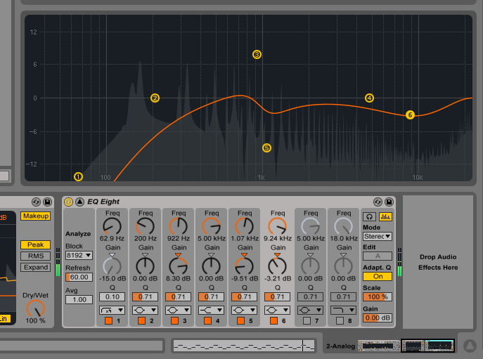 Tinkering with new Ableton Live 9 features