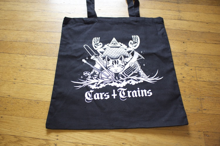 New Tote Bag Designs up on Bandcamp Store